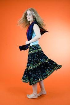 Free Blond Dancer Stock Image - 1343171