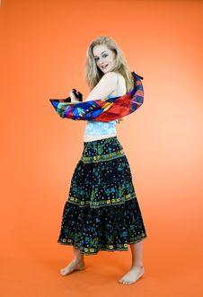 Free Blond Dancer Stock Photos - 1343233