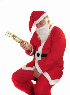 Free Santas Cracker Royalty Free Stock Photo - 1343295
