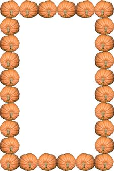 Free Pumpkin Frame Stock Photos - 1343353