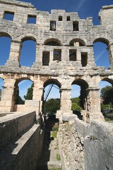 Free Roman Arena 9 Royalty Free Stock Photos - 1343718