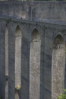 Free Aqueduct Of Spoleto. Stock Photography - 1343922
