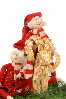 Free Santa Lovers Royalty Free Stock Photo - 1343985