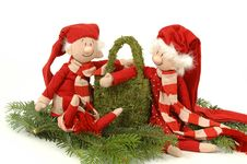 Free Santa Couple Royalty Free Stock Photography - 1344007