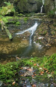 Free Waterfall In Yorkshire Dales Stock Photography - 1344102