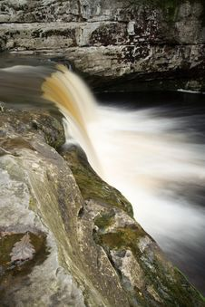 Free Waterfall In Yorkshire Dales Stock Photography - 1344132