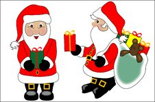 Free Santa Claus Royalty Free Stock Photography - 1344527