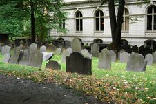 Free Tombstones In Old Grave Yard Two Stock Photography - 1344922