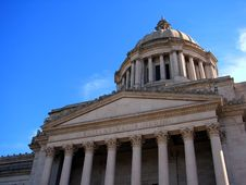 State Capitol Building Royalty Free Stock Photo