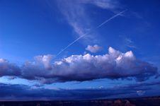Grand Canyon Sky Royalty Free Stock Photo