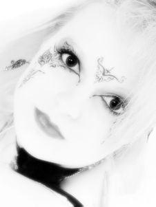 Free Beautiful German Goth Teen Girl Royalty Free Stock Image - 1345236