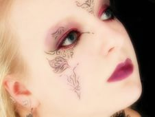 Free Beautiful German Goth Teen Girl Royalty Free Stock Photography - 1345257