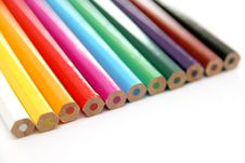 Free Colored Pencils Royalty Free Stock Photography - 1345357