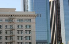 Free Buildings In Downtown Los Angeles 2 Stock Image - 1345491