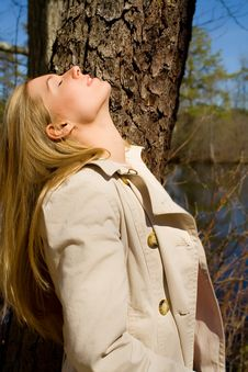 Free Face To The Sun Stock Photography - 1345552