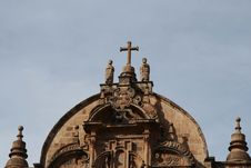 Cathedral In The Cuzco,Peru Stock Image