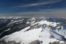 Free High Mountain Panorama Royalty Free Stock Images - 1346179