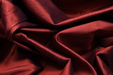Free Red Silk Royalty Free Stock Image - 1346706