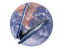 Free Blue Laptop Stock Image - 1347151