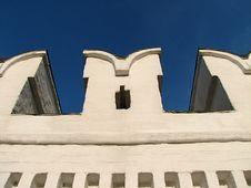 Free Monastery Wall 3 Royalty Free Stock Photos - 1347488