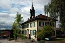 Free Nuerensdorf City Hall Stock Photo - 1347530