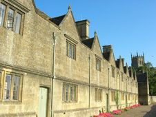 Free Almes Houses In Chipping Campden Stock Photos - 1348563