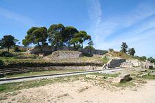 Free Roman Amphitheatre Royalty Free Stock Image - 1348806