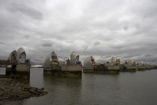 Free Thames Barrier Royalty Free Stock Photos - 1349018