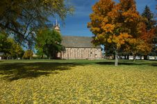Free Stake Tabernacle In The Fall Stock Image - 1349621