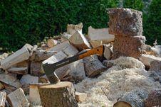 Free Wood, Tree, Wood Chopping, Rubble Royalty Free Stock Photos - 134004328