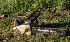 Free Grass, Chainsaw, Soil, Tool Royalty Free Stock Images - 134004589
