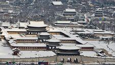 Free City, Urban Area, Snow, Winter Royalty Free Stock Photo - 134005145