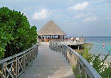 Free Resort, Boardwalk, Walkway, Coast Stock Image - 134005421