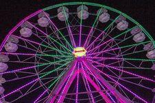 Free Ferris Wheel, Tourist Attraction, Purple, Amusement Park Stock Photography - 134005462