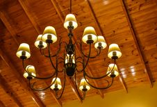 Free Light Fixture, Lighting, Chandelier, Light Stock Image - 134005631