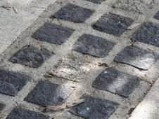 Free Cobblestone, Road Surface, Flagstone, Asphalt Stock Images - 134005754