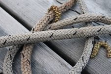 Free Rope, Knot Stock Photography - 134005992