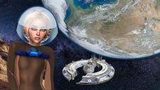 Free Astronaut, Earth, Space, World Stock Photo - 134006100