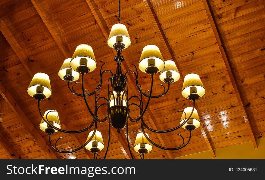 Light Fixture, Lighting, Chandelier, Light