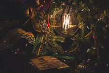 Free Turned-on Light In Christmas Tree Royalty Free Stock Images - 134072169