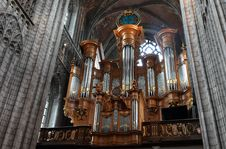 Free Cathedral, Building, Organ Pipe, Pipe Organ Stock Photography - 134103692