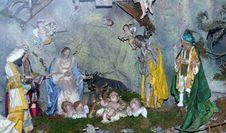 Free Nativity Scene, Religion, Painting, Manger Royalty Free Stock Photos - 134103728
