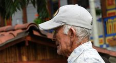 Free Senior Citizen, Headgear, Hat, Elder Stock Image - 134104611