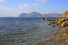Free Autumn Beach - Clear Water Royalty Free Stock Image - 13423606