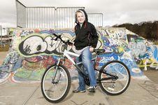 Free Bike Boy Stock Images - 13426744