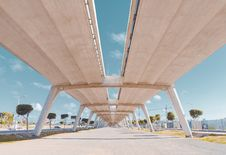 Free Infrastructure, Structure, Fixed Link, Overpass Royalty Free Stock Images - 134212799
