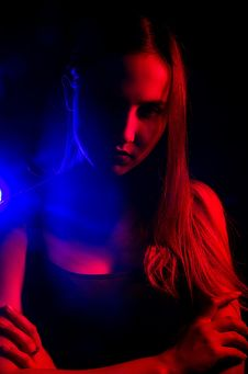 Free Blue, Red, Light, Darkness Stock Image - 134213111