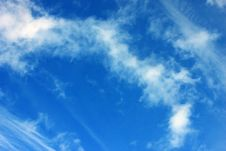 Free Blue Sky With Clouds Royalty Free Stock Photo - 13446635