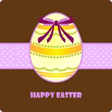 Free Easter Greeting Card Royalty Free Stock Photography - 13452057