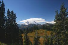 Free Mt. Rainier Stock Photo - 13468990